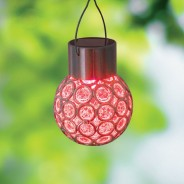 Crystal Colour Changing Solar Light 3