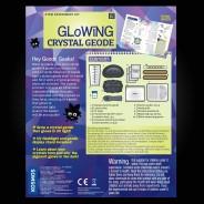 Geek & Co Glowing Crystal Geode Kit 5