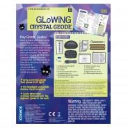 Geek & Co Glowing Crystal Geode Kit 9