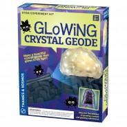 Geek & Co Glowing Crystal Geode Kit 8