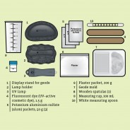 Geek & Co Glowing Crystal Geode Kit 3
