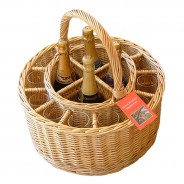 Garden Party Wine & 12 Glasses Picnic Basket 1