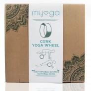 Eco Cork Yoga Wheel 8