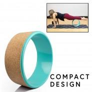 Eco Cork Yoga Wheel 3