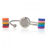 Diffuser Bangle - Flower of Life (23) 2