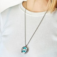 Diffuser Necklace - Dragonfly 25mm (04) 2