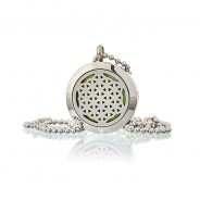 Diffuser Necklace - Flower of Life 25mm - 02 2