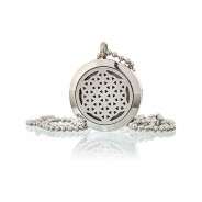 Diffuser Necklace - Flower of Life 25mm - 02 3