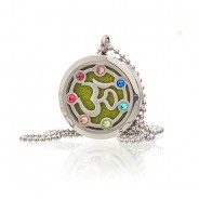 Diffuser Necklace - Om Chakra 30mm (19) 3