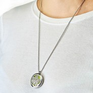 Diffuser Necklace - Tree of Life 30mm (08) 2