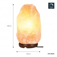 Dimmable Himalayan Rock Salt Lamp 8