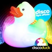Light Up Bath Duck - Disco Duck 1