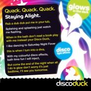 Light Up Bath Duck - Disco Duck 5
