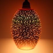 Dohan Antique Copper 3D Glass Pendant Shade (23034) 2