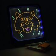 Neon Glow Light Up Doodle Pad 1