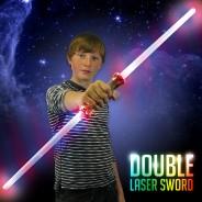 Light Up Double Laser Sword 1