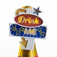 Drink Me Flashing Bottle Topper 3