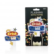 Drink Me Flashing Bottle Topper 5