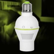 PIR Sensor Bulb Holder E27 1