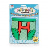Birthday Party Pants Bunting 3