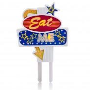 Eat Me Flashing Food Topper 4