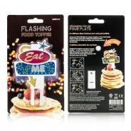Eat Me Flashing Food Topper 5
