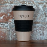 Eco Bamboo Travel Coffee Mug 1