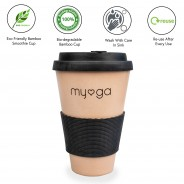 Eco Bamboo Travel Coffee Mug 3