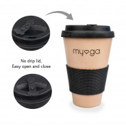 Eco Bamboo Travel Coffee Mug 5