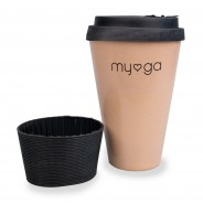 Eco Bamboo Travel Coffee Mug 7
