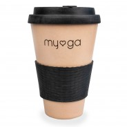 Eco Bamboo Travel Coffee Mug 6