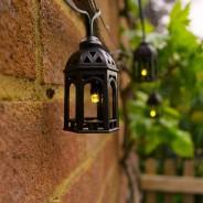 Elan Solar Moroccan Lantern Fairy Lights 1