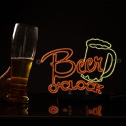 Beer O'Clock EL Light 2