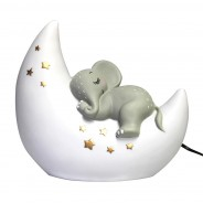 Elephant and Moon Lamp 2