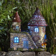 Elfstead Solar Fairy Castle 2 Colour change