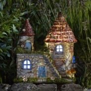 Elfstead Solar Fairy Castle 1 White light