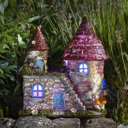 Elfstead Solar Fairy Castle 3 Colour change