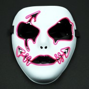 El Wire Ladies Face Mask 8 Spooky Siren