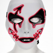 El Wire Ladies Face Mask 9 Spooky Siren