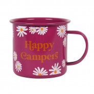 Happy Campers Enamel Mug 2