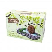 Woodland Fairy Garden Accessories 12 Pond & Waterwheel