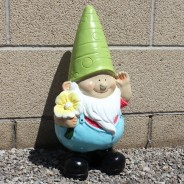 Shiny Giant Gnome 50cm Tall 2