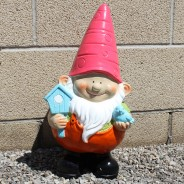 Shiny Giant Gnome 50cm Tall 3