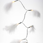White Feather String Lights  3