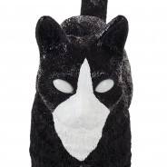 Seletti Jobby Cat Rechargeable Lamp 16 Black and White Cat