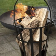 Fire Basket with Handle FF46 2