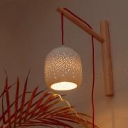 Fireflies Porcelain Lamp 1