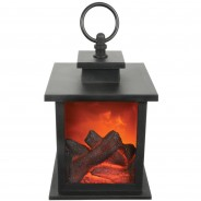 Fireplace Lantern with Timer 4