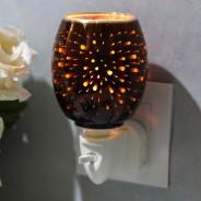 Fireworks 3D Plug In Wax Warmer  6 Chocolate