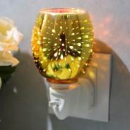 Fireworks 3D Plug In Wax Warmer  5 Gold